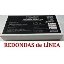 Caja 50 agujas liner 025 RL