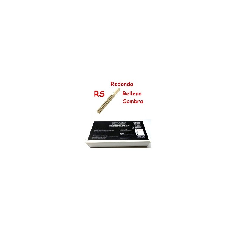 Caja agujas shader 035 RS standard