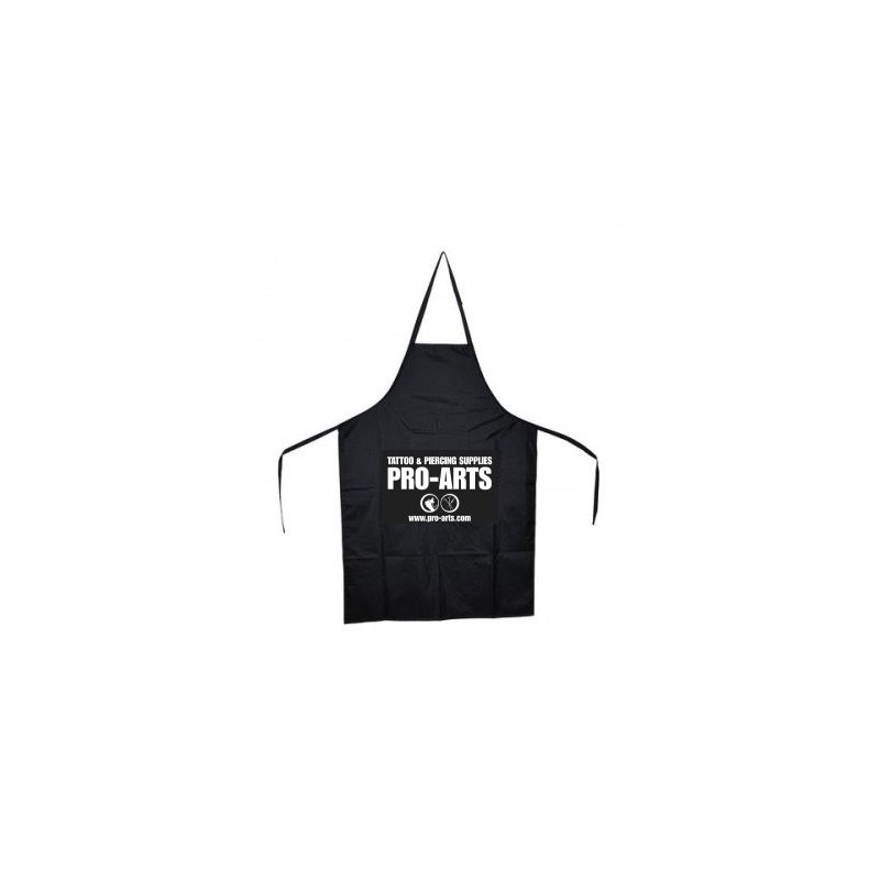 Black waterproof apron