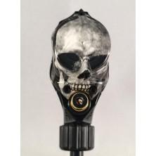 Art Driver Black Skull