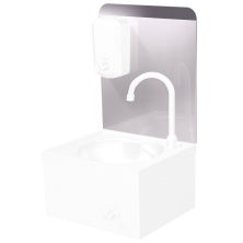 Peto postizo liso para acoplar a lavamanos XS