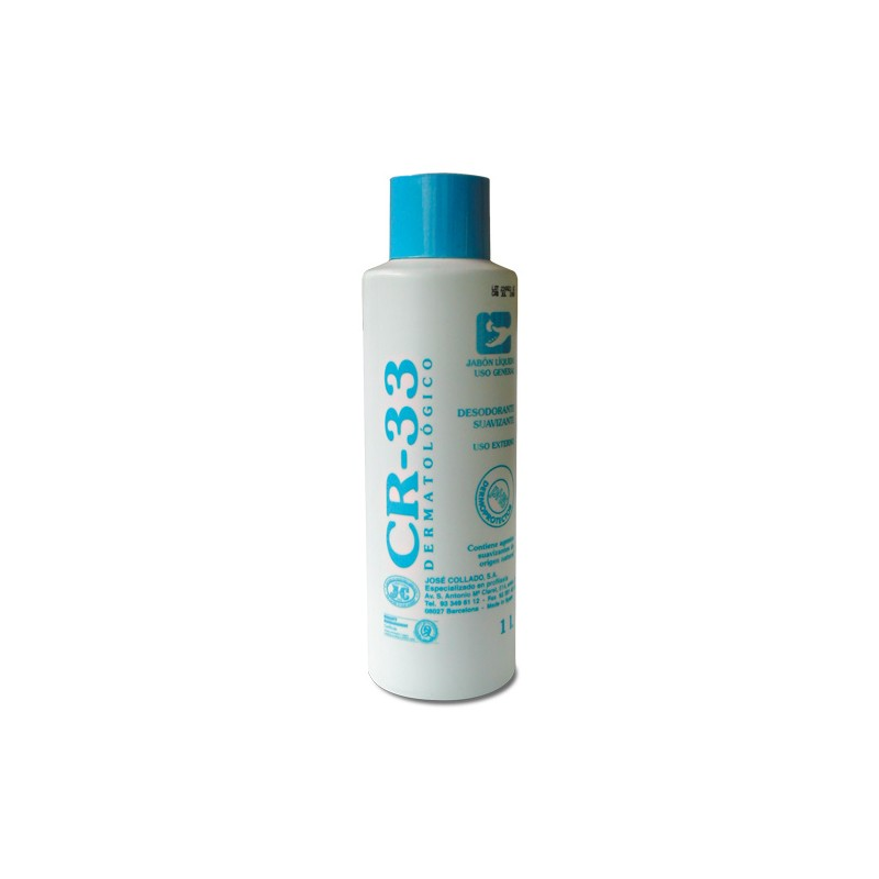 CR-33 jabón dermatológico 1 litro