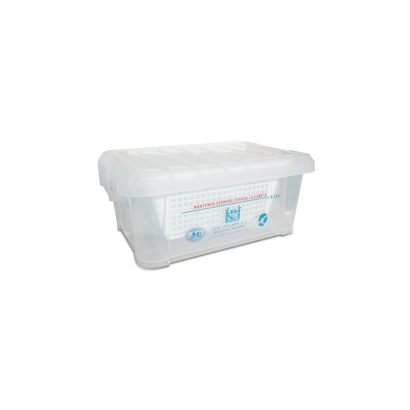 Cubeta desinfección 5 litros cesta plástico
