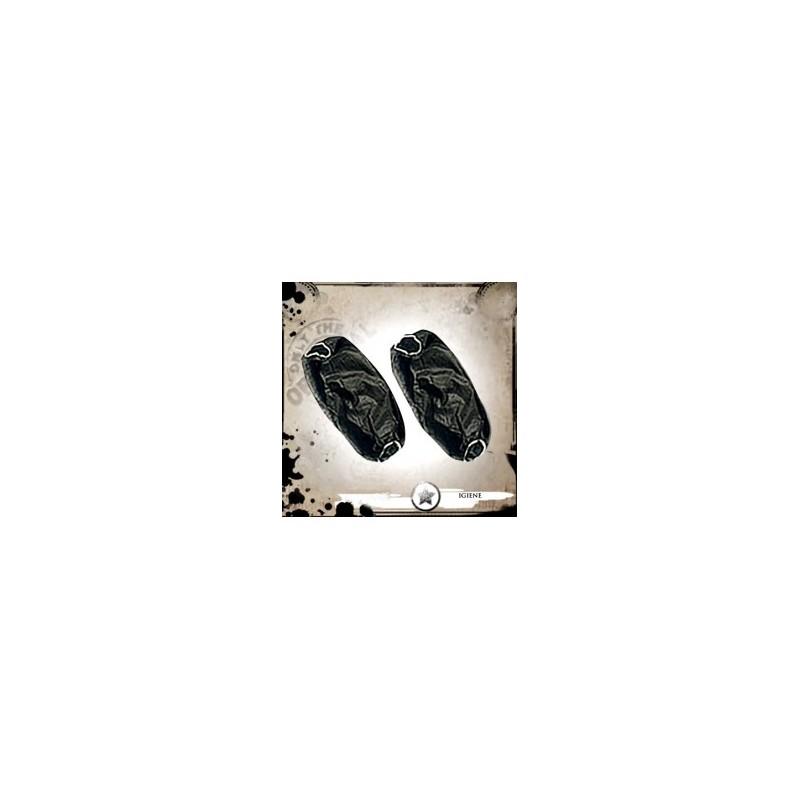 Mangas desechables negras 10 unidades