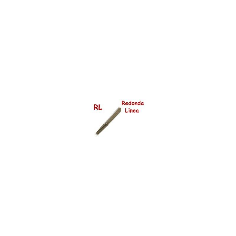 Agujas línea 035 RL, estándar