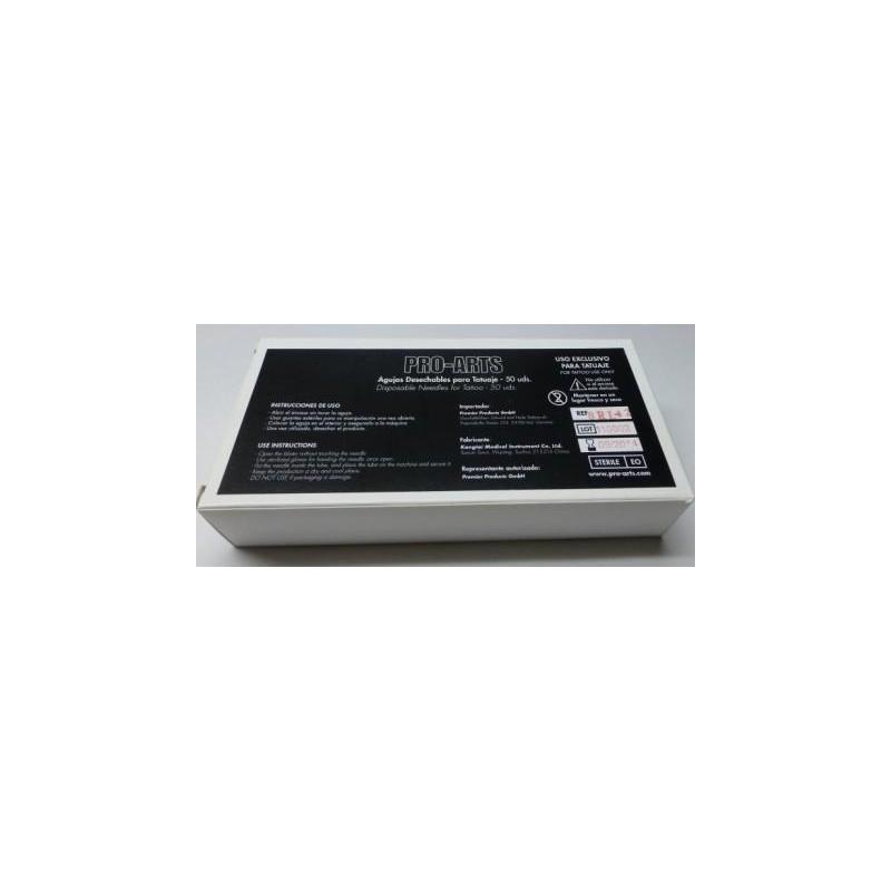 Caja agujas magnum redondas 025 MR