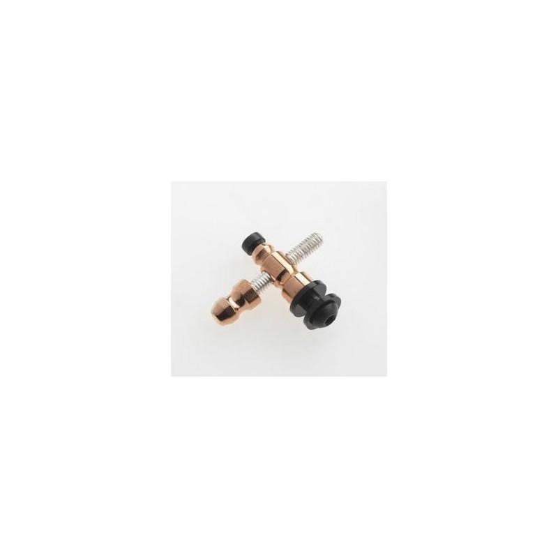 Contacto delantero de cobre con tornillo Plata 925 M4