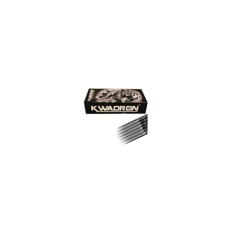 Agujas Kwadron MR 0.35 mm. Caja de 50 magnum redonda