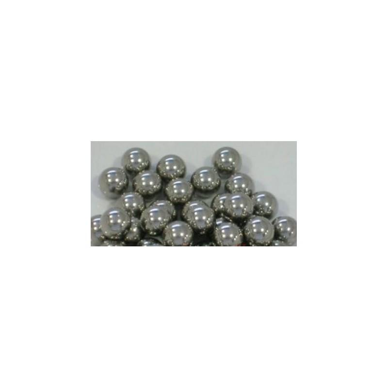 Bolas agita colores de acero inox