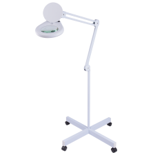 Lámpara de aumento con pie