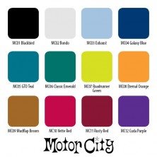 Motor City Set 12 colores 1oz