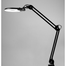 Lámpara de aumento BLACK para mesa
