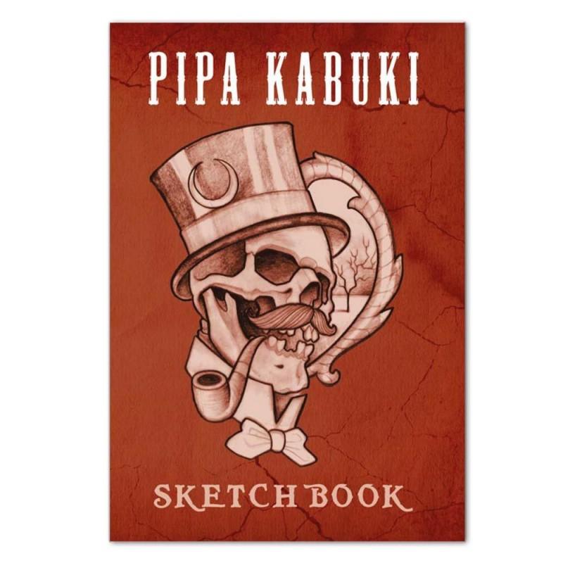 Sketchbook Pipa Kabuki