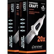 20 Cartuchos Craft Soft Edge Magnum Cheyenne