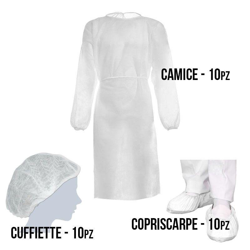 Kit protección corporal