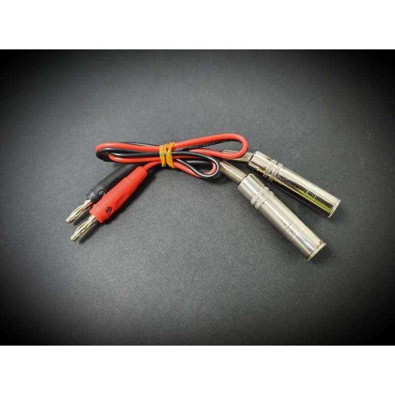 Cable adaptador Banana Jack