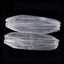 Mangas desechables transparentes
