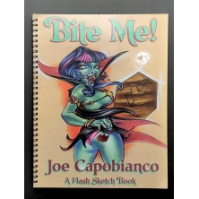 "Joe Capobianco ""Bit me!"" flash sketch book"