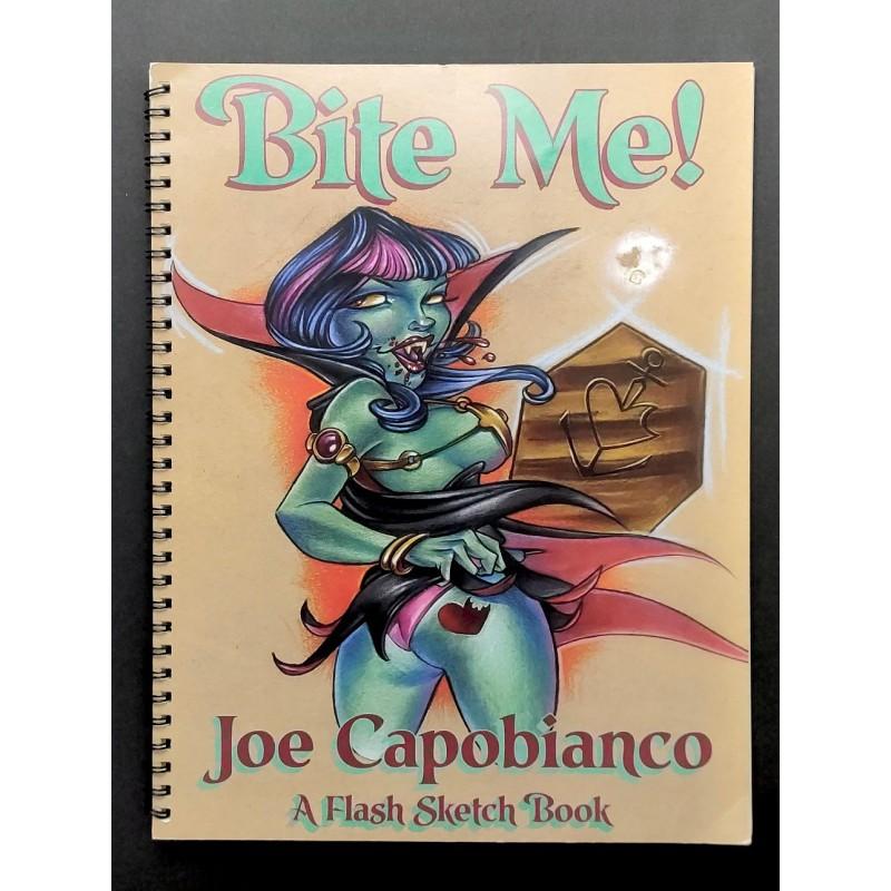 "Joe Capobianco ""Bit me!"" flash sketch book"