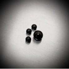 Bola Negra Rosca de Acero Quirúrgico