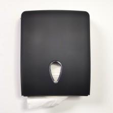 Dispensador toallitas negro