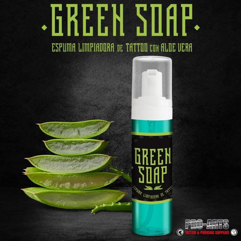 Green Soap Espuma