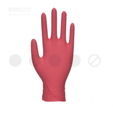 Guantes nitrilo Pearl Red