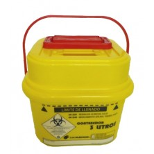 Contenedor residuos clínicos 3 litros
