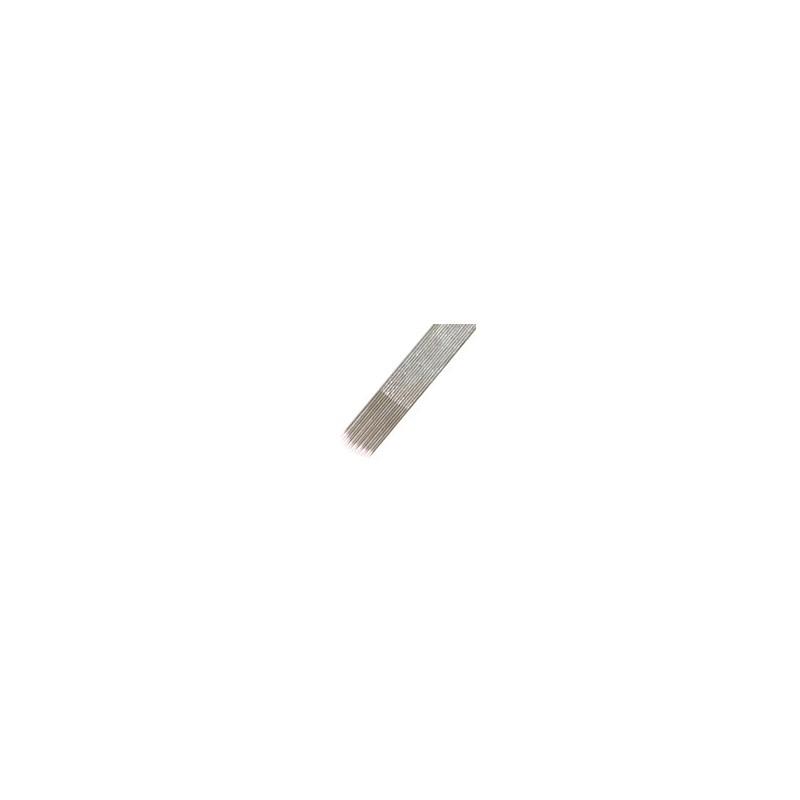 Caja agujas magnum redondas 035 estándar